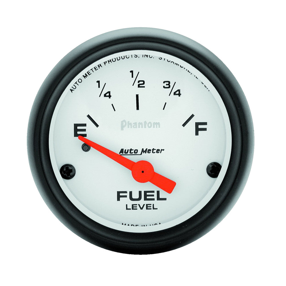 GAUGE, FUEL LEVEL, 2 1/16in, 240OE TO 33OF, ELEC, PHANTOM