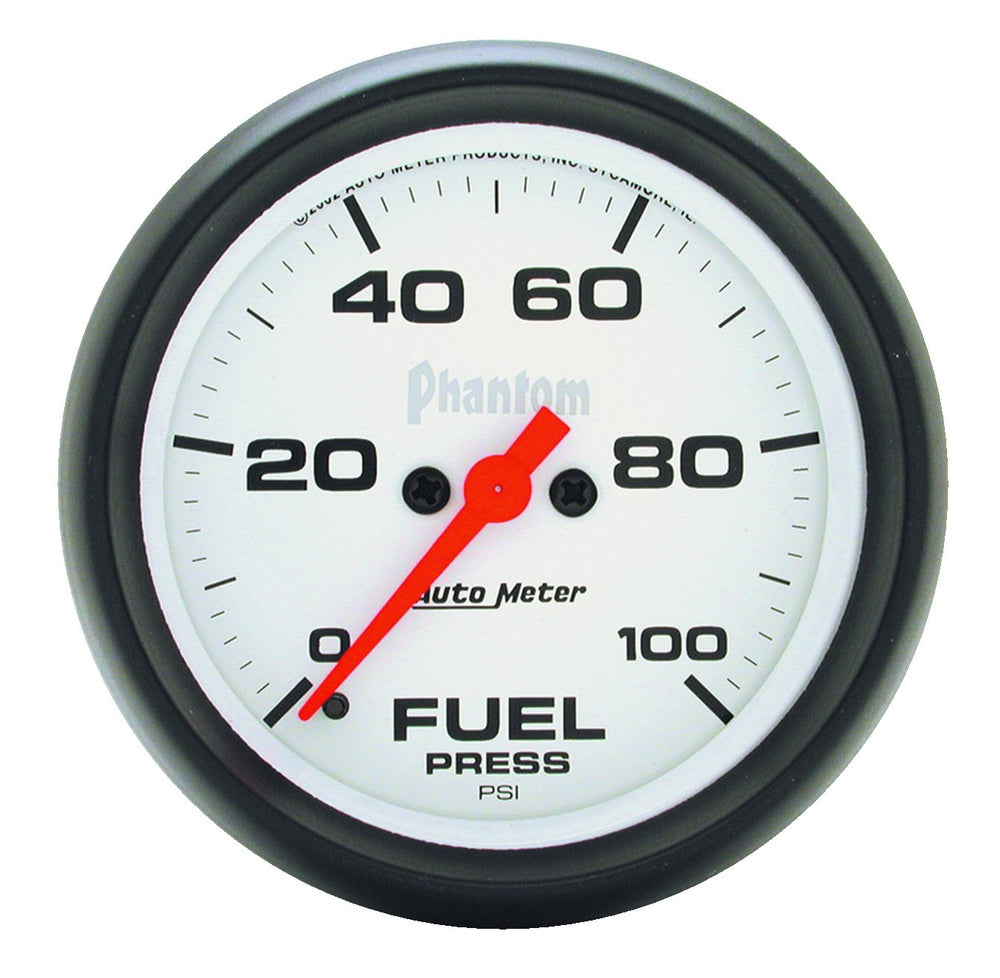 GAUGE, FUEL PRESSURE, 2 5/8in, 100PSI, DIGITAL STEPPER MOTOR, PHANTOM