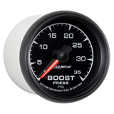 GAUGE, BOOST, 2 1/16in, 35PSI, MECHANICAL, ES
