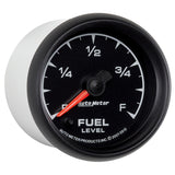 GAUGE, FUEL LEVEL, 2 1/16in, 0-280O PROGRAMMABLE, ES