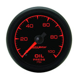 GAUGE, OIL PRESSURE, 2 1/16in, 100PSI, MECHANICAL, ES