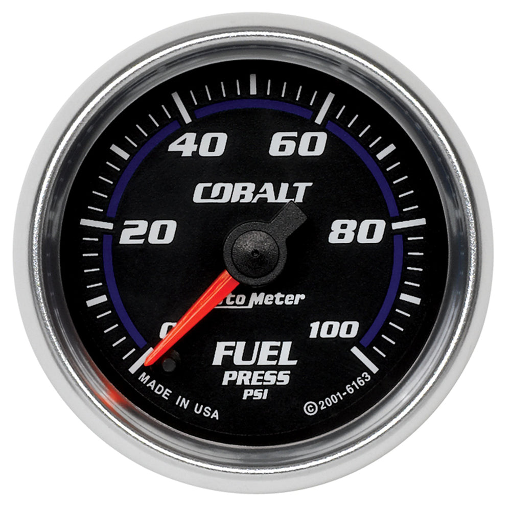 GAUGE, FUEL PRESSURE, 2 1/16in, 100PSI, DIGITAL STEPPER MOTOR, COBALT