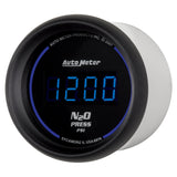 GAUGE, NITROUS PRESSURE, 2 1/16in, 1600PSI, DIGITAL, BLACK DIAL W/ BLUE LED
