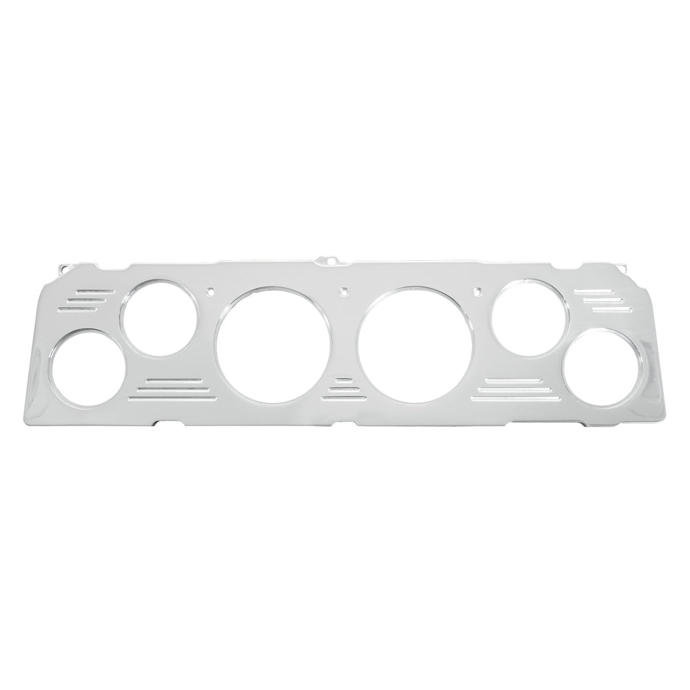 DASH PANEL, CHEVY TRUCK 64-66, 2 X 3-1/8in, 4 X 2-1/16in, BILLET