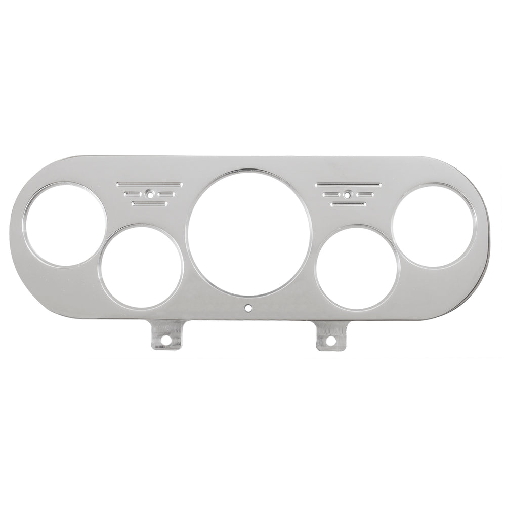 DASH PANEL, NOVA 62-65, 1 X 3-1/8in & 4 X 2-1/16in, BILLET