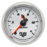 GAUGE, FUEL PRESSURE, 2 1/16in, 15PSI, DIGITAL STEPPER MOTOR, C2