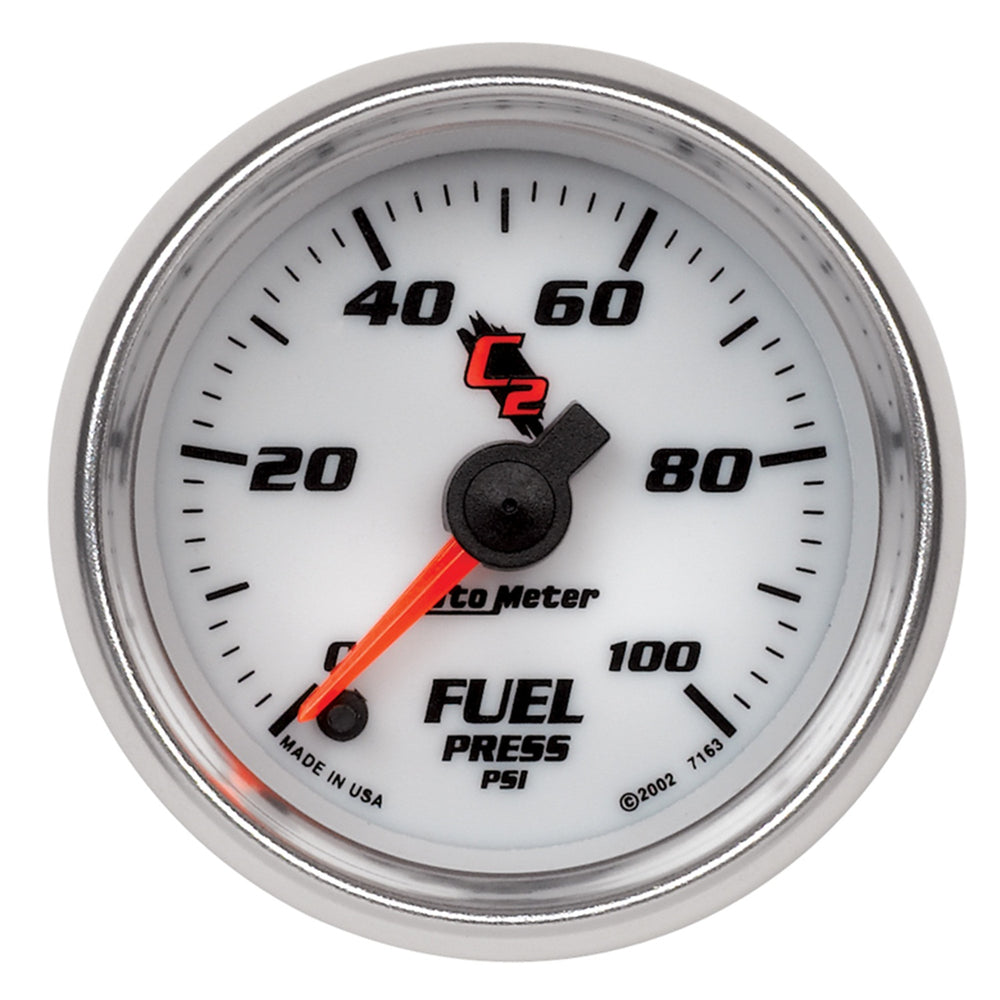GAUGE, FUEL PRESSURE, 2 1/16in, 100PSI, DIGITAL STEPPER MOTOR, C2