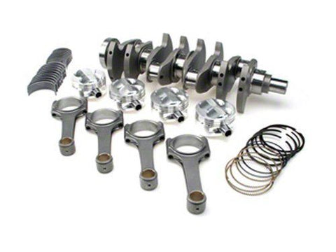 STROKER KIT - Mitsubishi 4G63/Evo (7 bolt), 102mm Billet Crank, ProH2K Rods, Custom Pistons