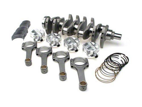 STROKER KIT - Mitsubishi 4G64 7 Bolt Blk w/4G63 Head, 102mm Crank, ProH625+ Rods (6.141in), Pistons