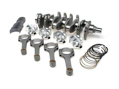 STROKER KIT - Mitsubishi 4G63/Evo (7 bolt), 94mm Crank, I Beam w/ARP2000 (6.141in), Custom Pistons