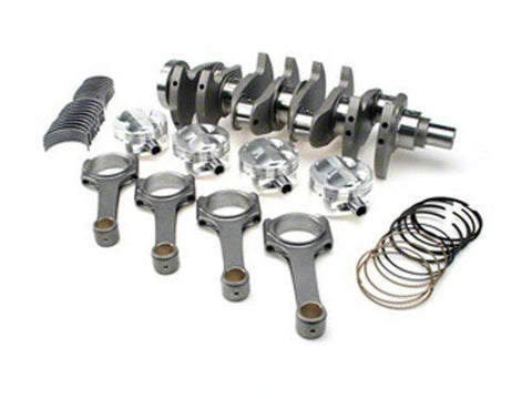 STROKER KIT - Mitsubishi 4G63/Evo (7 bolt), 94mm Billet Crank, ProH625+ Rods (6.141in), Custom Piston