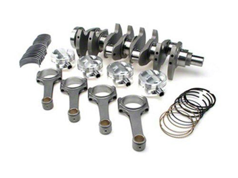 STROKER KIT - Mitsubishi 4G63/Evo (7 bolt), 94mm Billet Crank, ProH2K Rods (6.141in), Cust Pistons