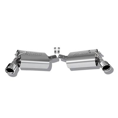 Borla S-Type Axle-Back Exhaust System for 2010-2013 Chevrolet Camaro 3.6L V6 (Does NOT fit 2013 RS w