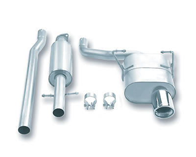 Borla Touring Cat-Back  Exhaust System for 2002-2007 Mini Cooper 1.6L 4 Cyl. Automatic and Manual Tr