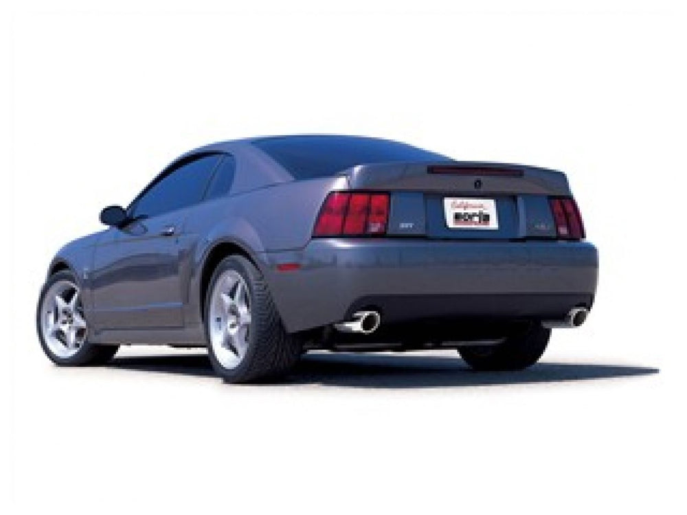 Borla Touring Cat-Back  Exhaust System for 1999-2004 Ford Mustang Cobra 4.6L V8 SC Manual Transmissi