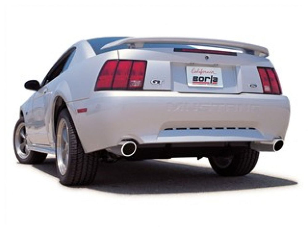 Borla S-Type Cat-Back  Exhaust System for 1999-2004 Ford Mustang GT 4.6L V8 Automatic/Manual Transmi