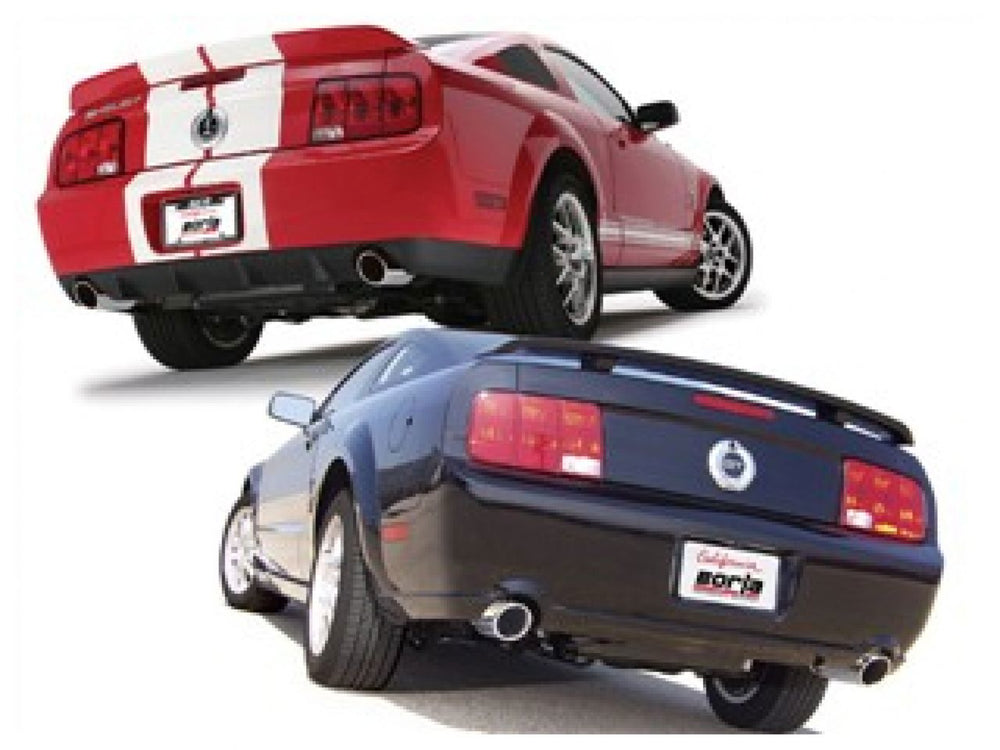 Borla S-Type Cat-Back  Exhaust System for 2005-2009 Ford Mustang GT 4.6L V8/ Shelby GT500 5.4L V8 SC