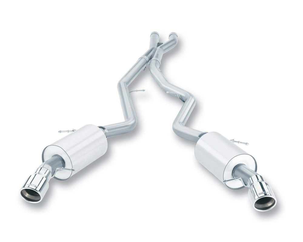 Borla S-Type Cat-Back  Exhaust System for 2007-2010 BMW 335i/ 335xi Coupe/ Sedan 3.0L 6 Cyl. Automat