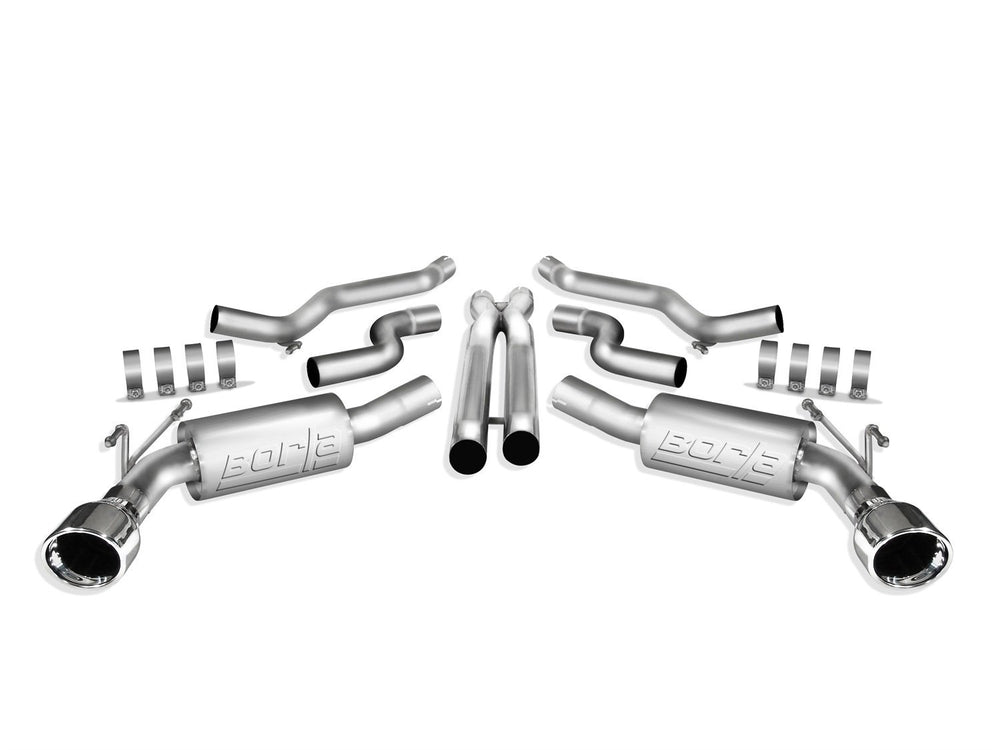 Borla S-Type Cat-Back  Exhaust System for 2010-2013 Chevrolet Camaro SS 6.2L V8 Automatic and Manual