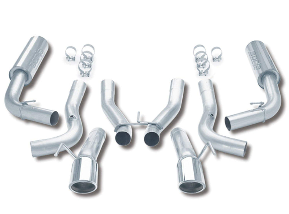 Borla Cat-Back  Exhaust System for 1996-2002 Dodge Viper GTS/RT-10 8.0L V10 Manual Rear Wheel Drive