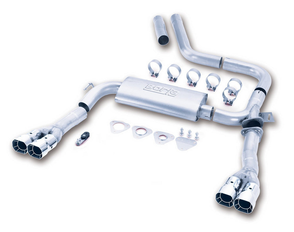 Borla S-Type Cat-Back  Adj. Exhaust System for 1998-2002 Chevrolet Camaro SS/Chevrolet Camaro Z/28 P
