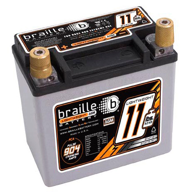 12V 475CCA Lightweight Advanced AGM Racing Batteries