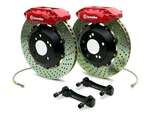 BREMBO GT BIG BRAKE KIT FRONT DRILLED - SUPRA 93-98