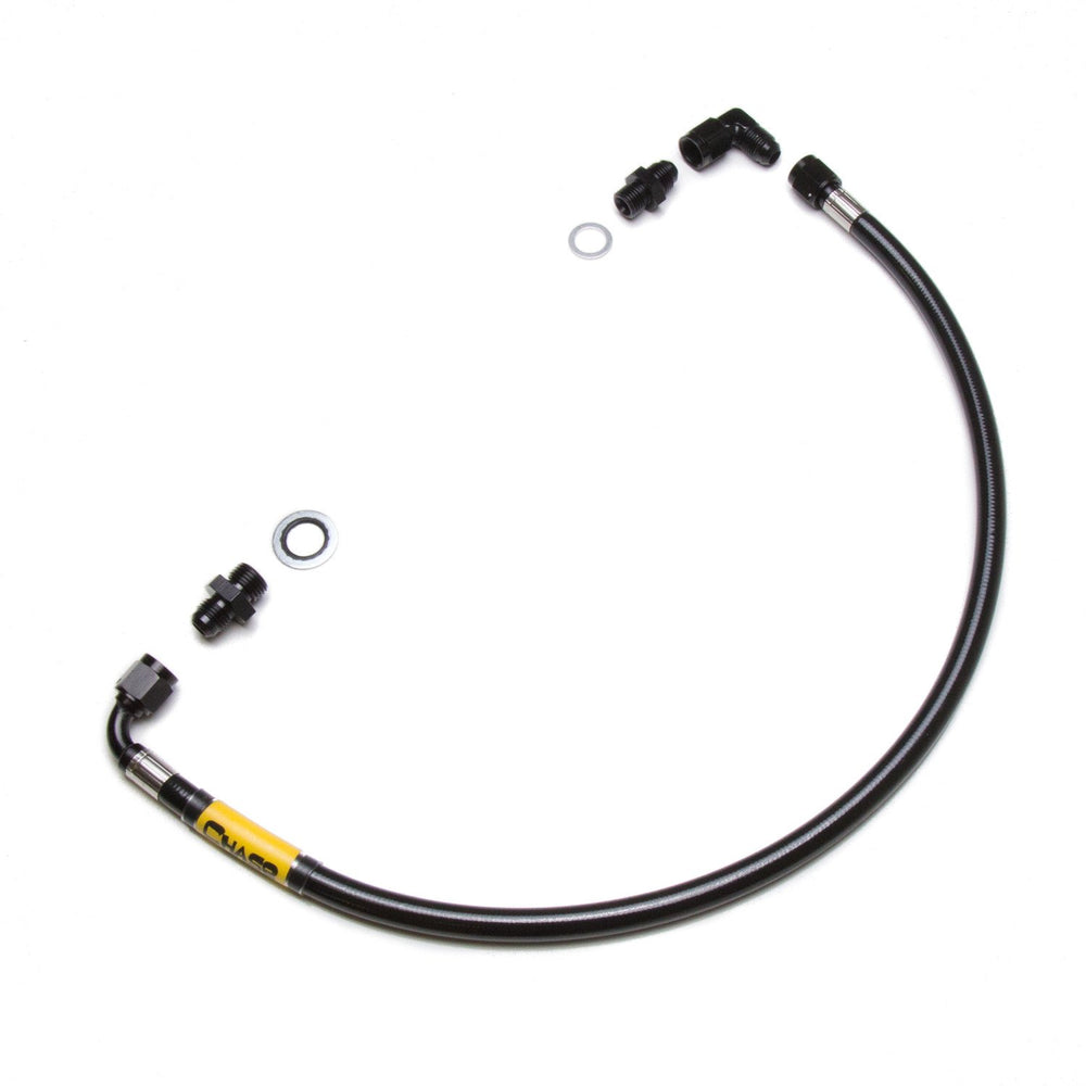 Chase Bays High Pressure Power Steering Hose - BMW E30 w/  GM LS1 | LS2 | LS3 | LS6