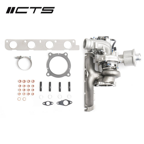 CTS Turbo K04-X Hybrid Turbocharger Upgrade for B7/B8 Audi A4, A5, AllRoad 2.0T, Q5 2.0T