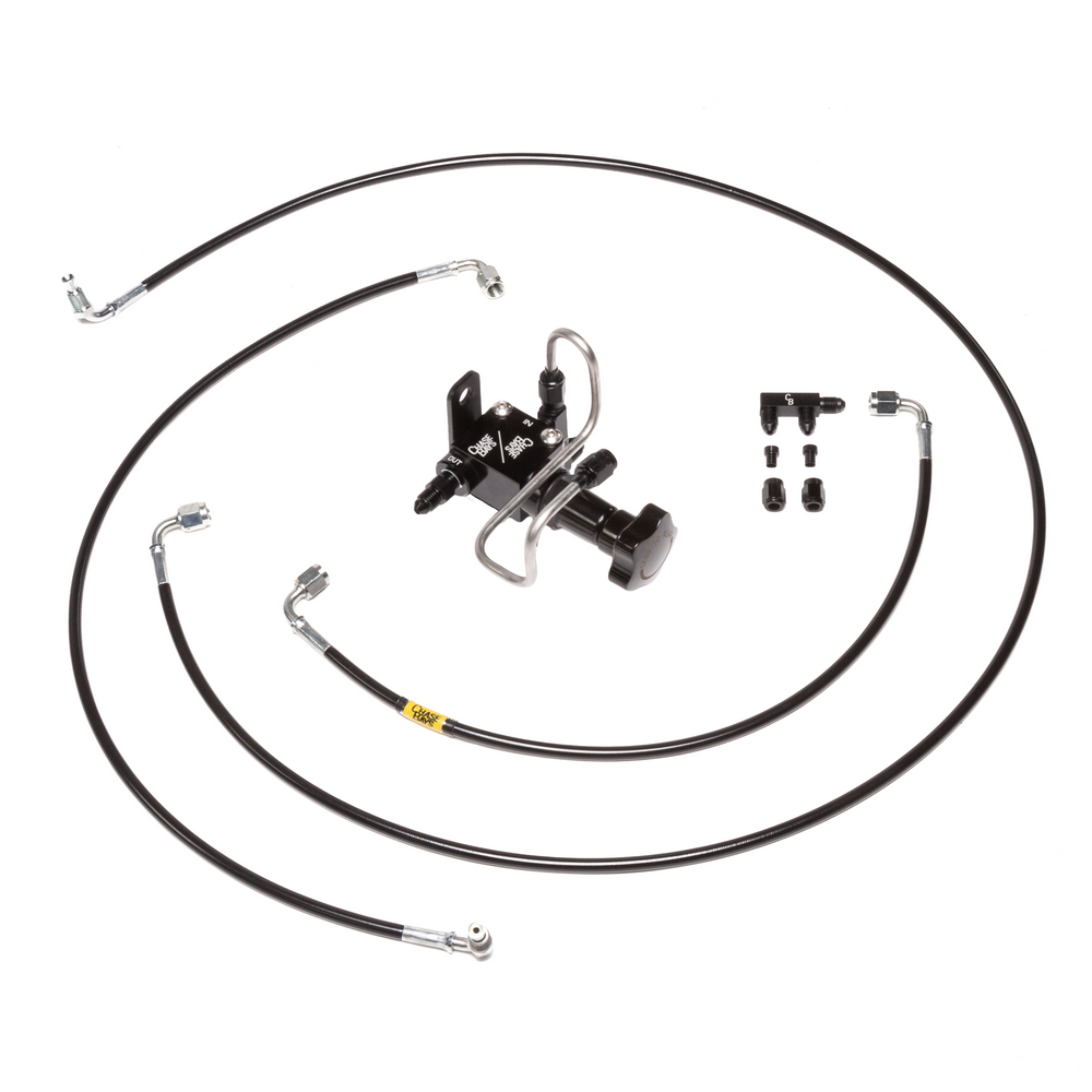 Chase Bays Brake Line Relocation - 94-01 Integra | 92-00 Civic for BBE inBay