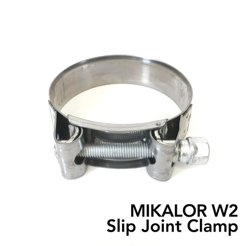 Mikalor W2 Stainless Slip Joint Clamp