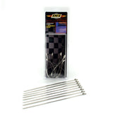 Stainless-Steel Locking Ties 8in (8 Per Pack)