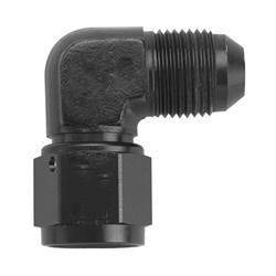 '-3AN Female to Male 90 Adapter - Black
