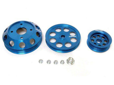 THE GREDDY PULLEY SET FOR THE 93-98 SUPRA TWIN TURBO