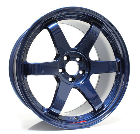 Volk Racing TE37SL 18x9.5 +40 Mag Blue