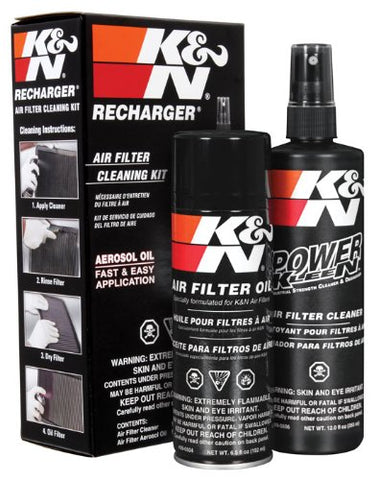 K&N FILTER CLEANING AND RE-OILING KIT