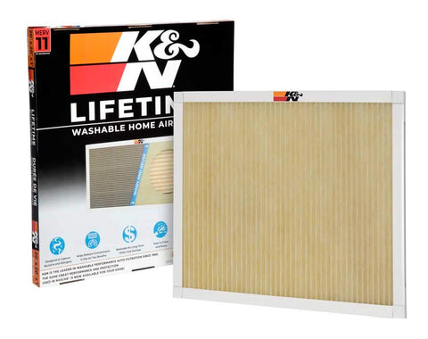 K&N Lifetime Washable HVAC Filter 20 x 20 x 1
