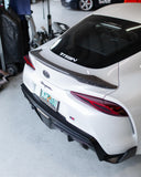 Rexpeed Supra 2020 Matte Forged Carbon Spoiler