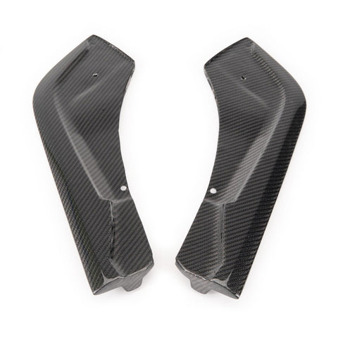 Rexpeed Supra 2020 V2-Style CF Rear Bumper Side Spats