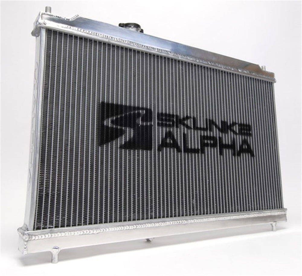 Alpha Series Full-Size Dual-Core Aluminum Radiator 94-01 Acura Integra