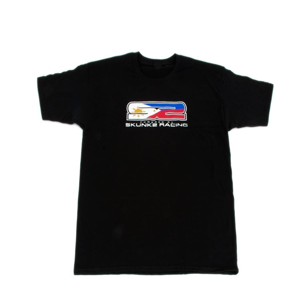 Skunk2 S2 Philippines Flag Men's T-Shirt Black XL
