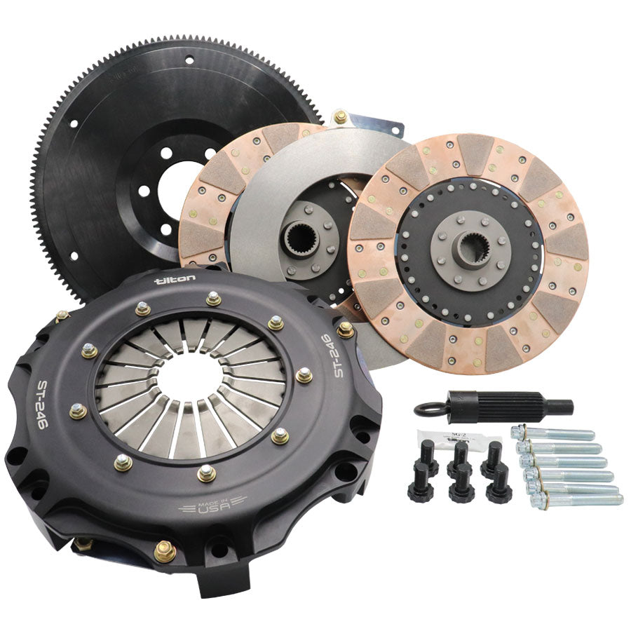 ST-246 TWIN DISC CLUTCH KIT, ORGANIC DISCS, CAMARO ZL1 GEN5, INCLUDES HRB