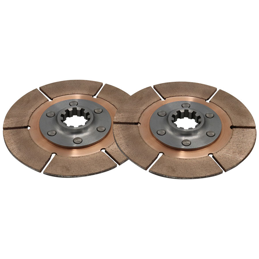 DISC PACK, METAL, 5.5in, 1 PL, 35MMX10