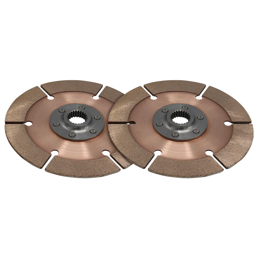 DISC PACK, METAL, 7.25in, 2 PL, 21MMX18