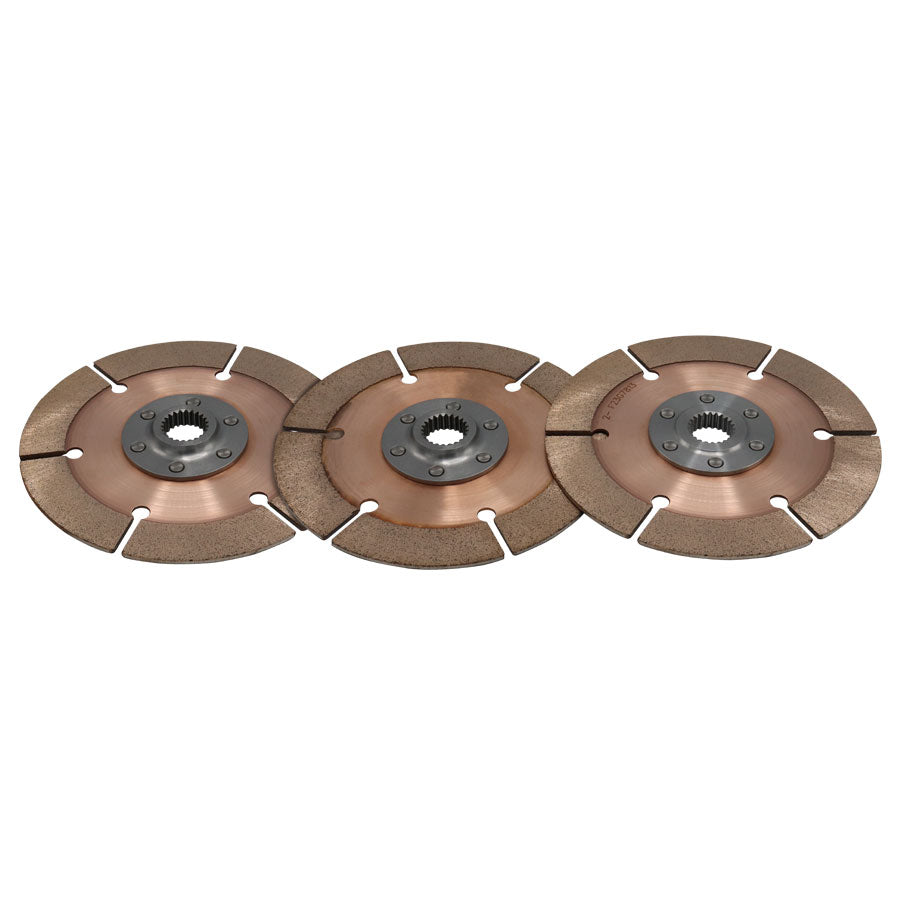 DISC PACK, METAL, 7.25in, 3 PL, 29MMX21