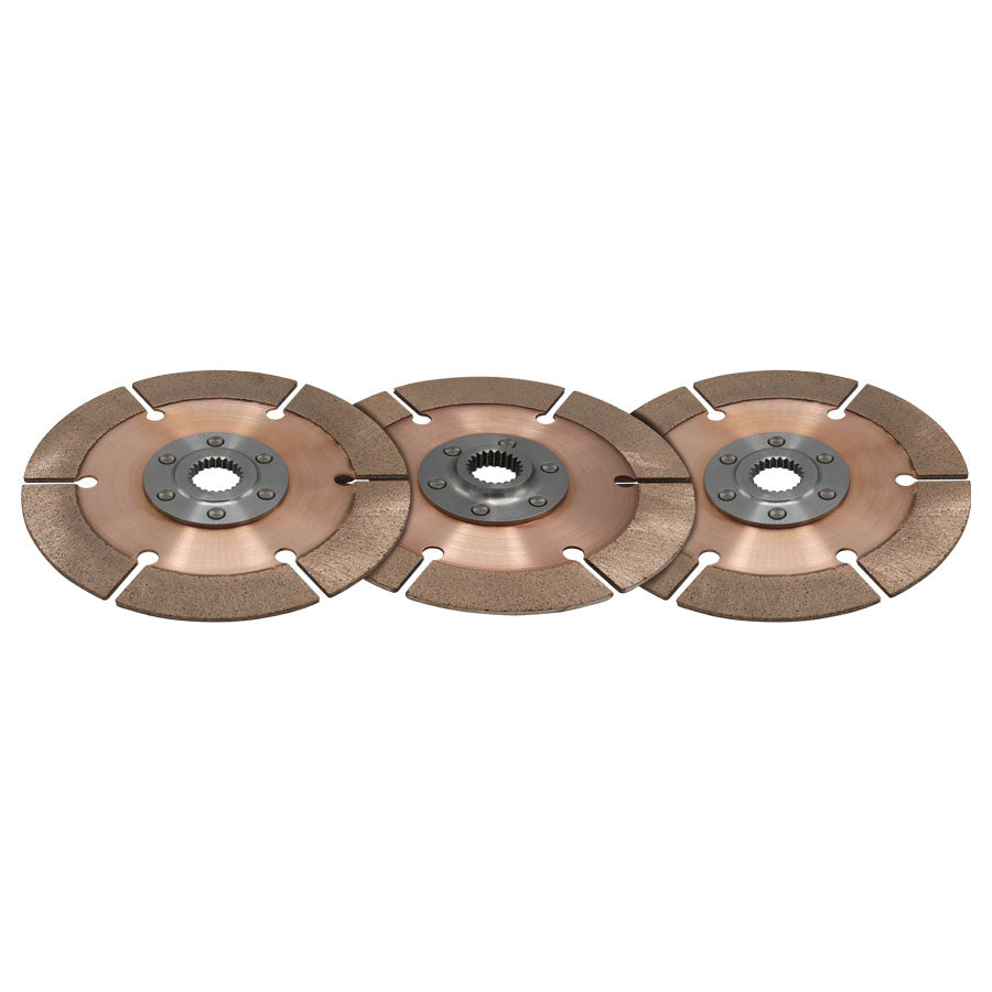 DISC PACK, METAL, 7.25in, 3 PL, 1X23
