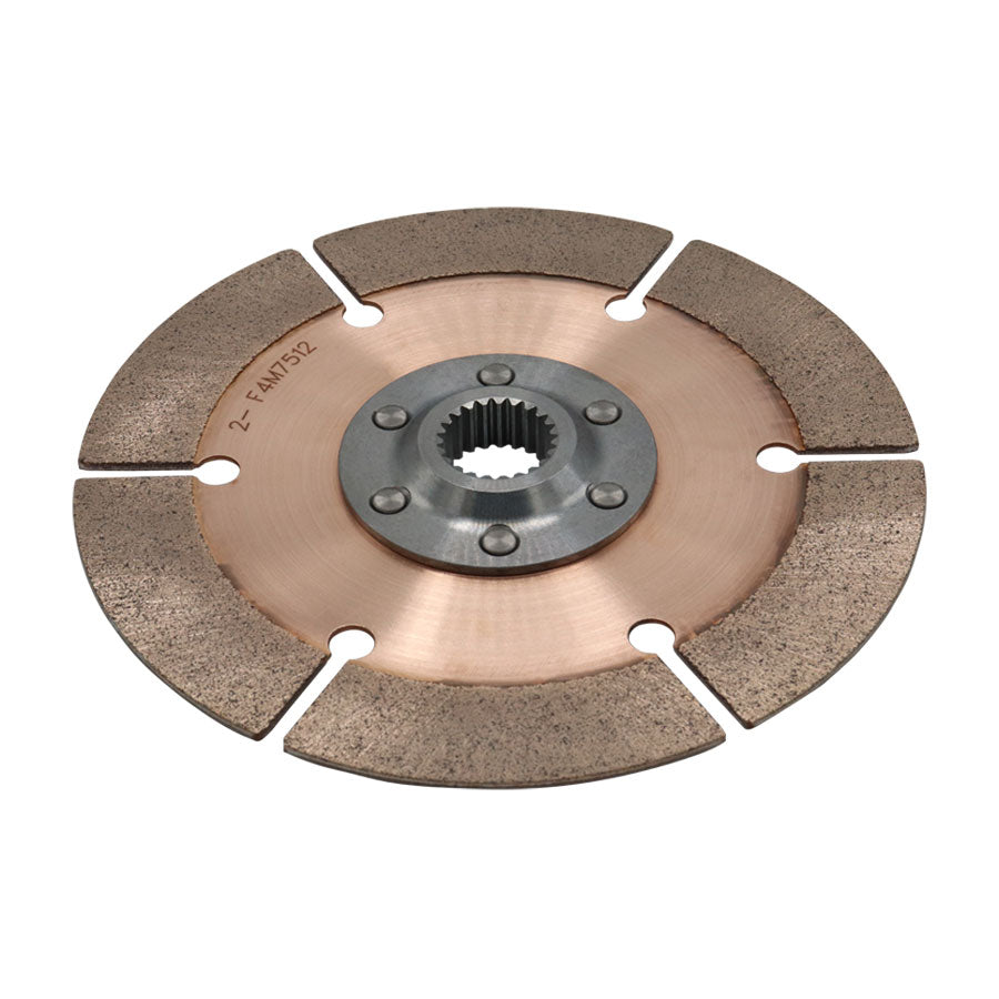 DISC PACK, METAL, 7.25in, 1 PL, 7/8X10