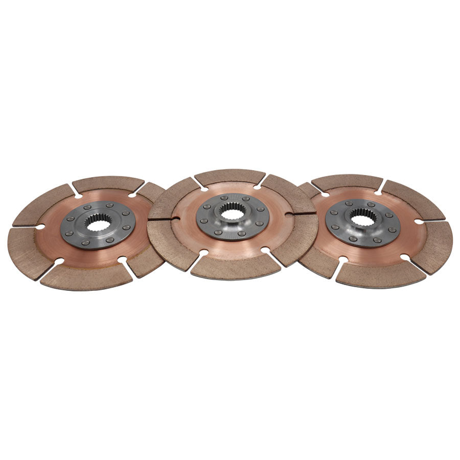 DISC PACK, METAL, 7.25in, 8 RVT, 3 PL, 29MM X 10