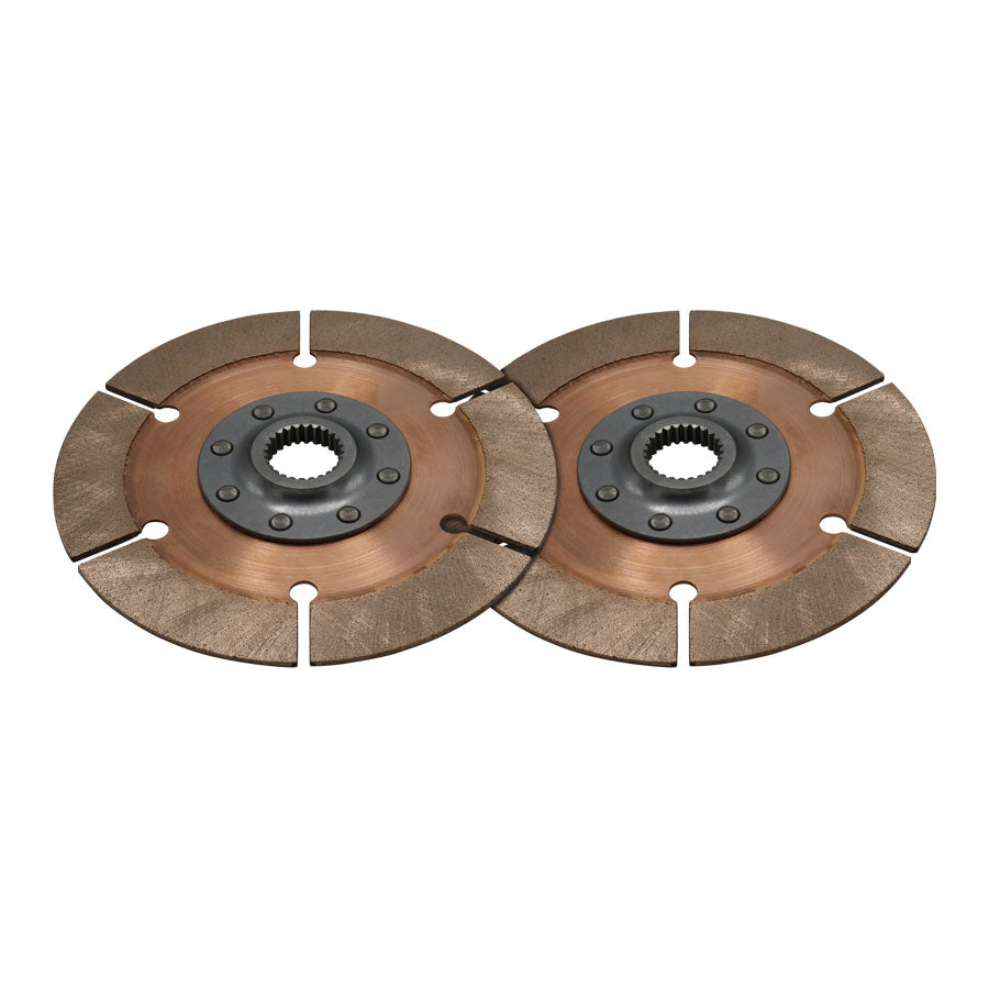 DISC PACK, METAL, 7.25in, 8 RVT, 2 PL, 29MM X 10