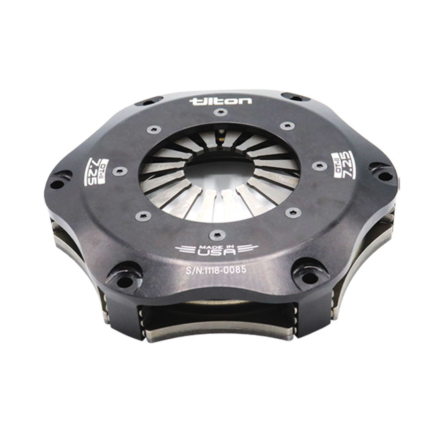 CLUTCH, CERAM, 7.25in, 2 PL, UHR, GRAY, STEP